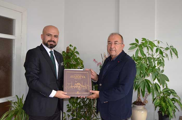 BİK Kahramanmaraş Müdürü Veysel Kara, KGC'yi Ziyaret Etti